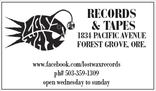 Used Vinyl & Punk in Forest Grove, OR, Music Store - Lost
