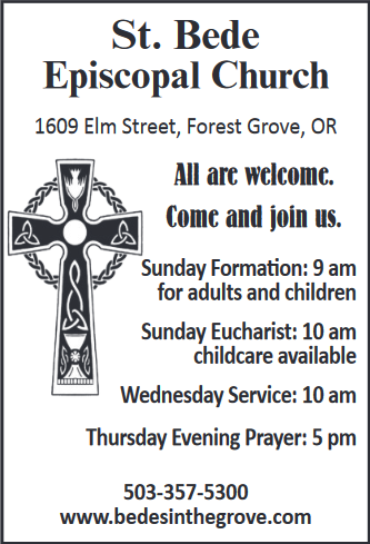 Sunday Formation & Eucharist Services Now in Forest Grove